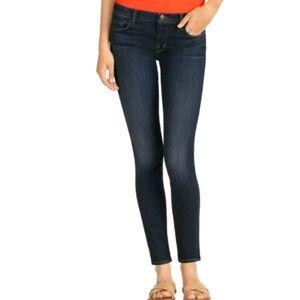 J BRAND 811 Mid-rise Skinny Leg Blue Jeans 26